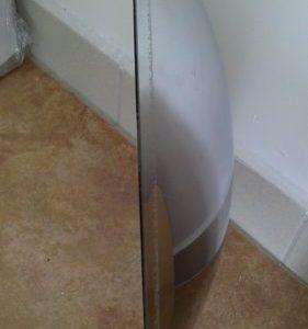 Konveksno / izbočeno ogledalo – širokokotno R315 mm