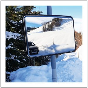 Unbreakable traffic mirrors