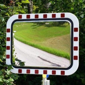Prometno ogledalo, ANTIFROST, ABS rob 450 x 600