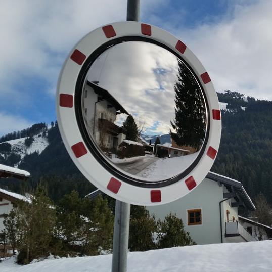 Prometno ogledalo, ANTIFROST, ABS rob fi 800